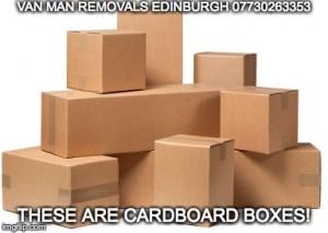 Van Man removals Edinburgh