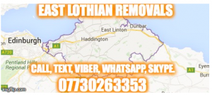 east lothian removals man van